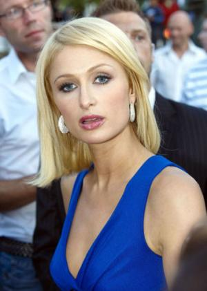 paris hilton oops. Paris Hilton was seen puffing